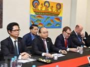 APEC 2018 : le Premier ministre rencontre des entreprises américaines