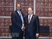 Le Premier ministre Nguyen Xuan Phuc rencontre son homologue vanuatais