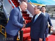 Sommet de l'APEC : Nguyen Xuan Phuc arrive en Papouasie-Nouvelle-Guinée