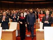 Le président indien prononce un discours important à l'AN du Vietnam