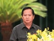 Un ancien dirigeant de Hô Chi Minh-Ville arrêté