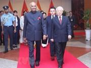 Le président indien Ram Nath Kovind termine sa visite d'Etat au Vietnam