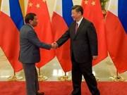 Le président chinois effectue sa visite d'Etat aux Philippines