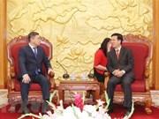 Une délégation du parti Nur Otan du Kazakhstan au Vietnam