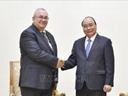 Le Premier ministre Nguyen Xuan Phuc reçoit l'ambassadeur de Belgique