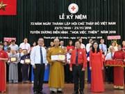 """Des """"fleurs de bienfaisances"""" à Hô Chi Minh-Ville"""