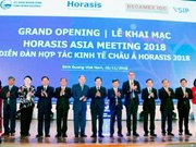 L'Horasis Asia Meeting 2018 s'ouvre à Binh Duong