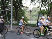 À vélo pour découvrir la capitale Hanoi autrement