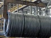 Les exportations d'acier et de fer ont atteint 3,84 milliards de dollars en 10 mois