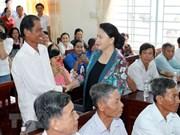 Les habitants de Cân Tho s'intéressent à la connectivité de la production agricole