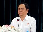 La délégation du CC du Front de la Patrie du Vietnam en visite en Chine