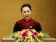 La présidente de l'AN part pour la République de Corée