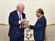 Le PM Nguyen Xuan Phuc reçoit un professeur de l'Université Harvard