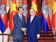 Développement des relations d'amitié et de bonne coopération Vietnam-Cambodge