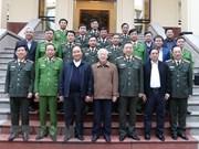 Le Comité du Parti pour la Sécurité publique fixe ses tâches