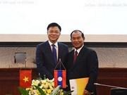 Le Vietnam et le Laos renforcent leur coopération judiciaire