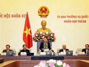 Le comité permanent de l'AN termine sa 29ème réunion