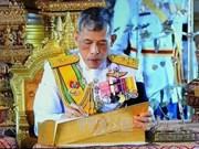 Le roi thaïlandais plaide pour les relations avec le Vietnam