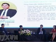 Forum de jeunes entrepreneurs du Vietnam 2018