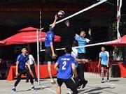 Evénement sportif commun entre Dong Thap et Prey Veng (Cambodge)