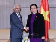 Un responsable onusien reçu par la vice-présidente permanente de l'AN Tong Thi Phong
