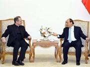 Le PM Nguyen Xuan Phuc reçoit une délégation du Saint-Siège