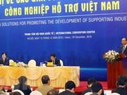 Le PM demande une priorité au développent de l'industrie auxiliaire
