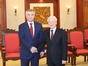 Le Vietnam prend en considération le partenariat stratégique intégral avec la Russie