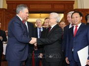 Le président de la Douma d'Etat russe  termine sa visite officielle au Vietnam