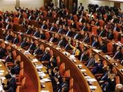 Deuxième journée de travail du 9e Plénum du Comité central du Parti