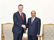Le Premier ministre reçoit l'ambassadeur des Etats-Unis