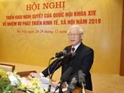 Le SG et président fixe quatre tâches essentielles pour 2019