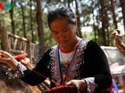 Le tissage de brocatelles à Môc Châu, véritable héritage culturel
