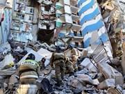 Sympathie à la Russie suite à de lourdes pertes lors de l'effondrement d'un immeuble