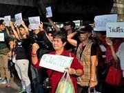 Thaïlande: Les manifestants demandent de ne pas retarder les élections
