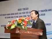 Le Vietnam s'efforce d'éliminer la transmission mère-enfant du VIH