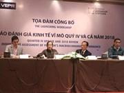 Le VEPR prévoit une croissance vietnamienne de 6,9% en 2019