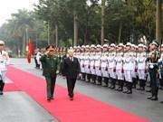 Le leader du PCV demande de bâtir une armée politiquement consciente