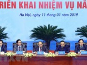 Le PM Nguyên Xuân Phuc à la conférence-bilan de 2018 de PetroVietnam