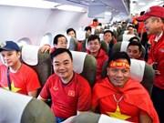 Coupe d'Asie de football 2019: un vol gratuit pour les supporters vietnamiens