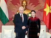 La présidente de l'AN appelle à l'appui de la Hongrie pour l'approbation de l'EVFTA