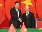 Vietnam-Chine: échange des messages de félicitations à l'occasion des 69 ans des liens diplomatiques