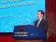 Le travail extérieur vise à approfondir les relations établies entre le Vietnam et ses partenaires
