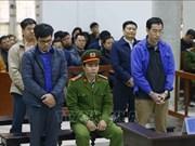 Quatre anciens cadres de BRS condamnés à 25 ans de prison
