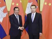 Le Cambodge et la Chine s'engagent à renforcer leur coopération