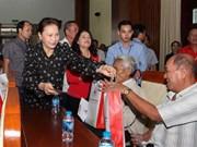 La présidente de l'AN exhorte Hâu Giang à booster l'agriculture