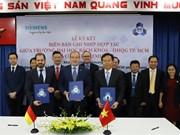 Coopération entre l'Université polytechnique de Hô Chi Minh-Ville et Siemens