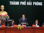 Vuong Dinh Huê inspecte la situation des IDE à Hai Phong et à Bac Ninh