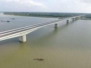 Ouverture au trafic du pont Hung Ha reliant Hung Yen à Ha Nam