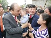 Le PM appelle la province de Hung Yen à développer vigoureusement des ZI